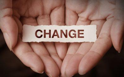 Quand il est question de changer quelque chose dans sa vie