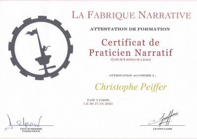 Christophe Peiffer praticien narratif